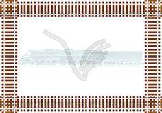 Railroad - vector clip art