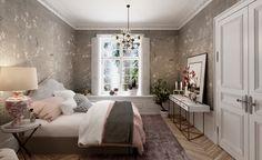 Спальня в английском доме