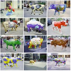 Cows on Parade in Chicago!! Classic!  That really was fun!  I think we saw them all.