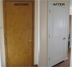 q 1950 doors update idea, diy, doors, home decor, home improvement, painting