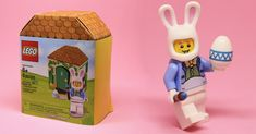 Easter Bunny Minifigure 5005249 [Review]