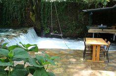 Forellenessen über dem Wasser - Yuvarlak Cay, Koycegiz Reisebewertungen - TripAdvisor