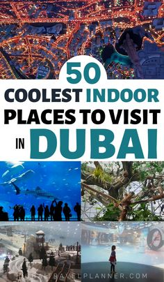 Seeking out the best places to keep your cool indoors in Dubai. We've found exciting and unique activities and tourist attractions you can happily fill your days with indoors in Dubai Middle East Destinations, Amazing Destinations, Travel Destinations, Travel Tips, Dubai Activities, Indoor Activities, Dubai Travel, Asia Travel, Best Places In Dubai