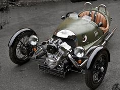 Morgan 3 Wheeler - Sure it may be retro, but today's new Morgan 3 Wheeler combines the best of the original with a modern and powerful motorcycle engine.
