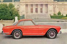 Triumph 2000 Italia produced from 1959 - 1962. Designed by Giovanni Michelotti. 329 built.