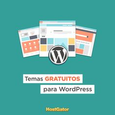 Você já conferiu os temas gratuitos para WordPress que nós separamos? Acesse nosso blog. #WordPress