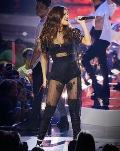 One Karl Lagerfeld-Designed Outfit Has Selena Gomez Super Pumped for Her Revival Tour from InStyle.com