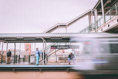 Bullet - Photography by Gotham www.itsforgotham.com #motionphotography #trainstation #train