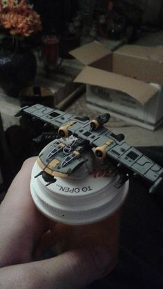 (1) X-Wing Miniatures Mods and Repaints