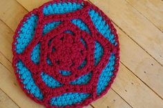 Free Crochet Pattern :: Tribble Trivet by Kristin Roach on Craft Leftovers