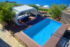 Lighthouse Korcula - Luxury lighthouse with pool, on a private Croatian island M Restaurant, Croatian Islands, Adriatic Sea, Jacuzzi, Strand, Lighthouse, Villa, Courtyards, Luxury