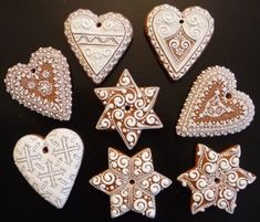 Cut Out Cookies, Sugar Cookies, Gingerbread Recipes, Christmas Cookies, Icing, Xmas Cookies, Sugar Cookie Cakes, Christmas Desserts, Holiday Cookies