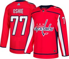 2591ccd4c adidas Men s Washington Capitals T.J. Oshie  77 Authentic Pro Home Jersey.  Adidas MenBraden Holtby15th BirthdayNhl ...