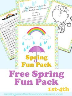 Only through Feb 4th!  Spring Fun Pack - Marriage Motherhood and Missions