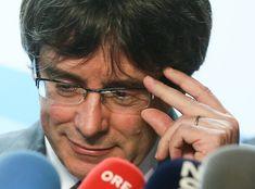"""Były premier Katalonii zatrzymany w Niemczech Niepodległości, wolności się zachciało, a tu masz... """"demokracja""""😂"""