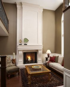 Next living room color~ Northampton Putty by Benjamin Moore.