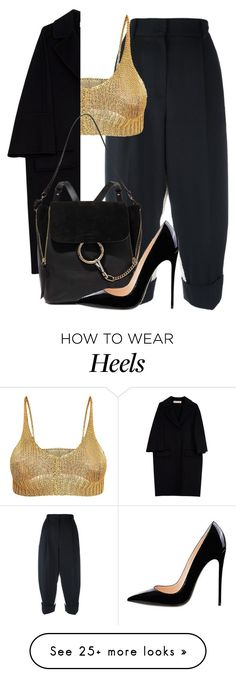 """""""Little lies"""" by forever-young89 on Polyvore featuring Dolce&Gabbana, Marni and Chloé"""