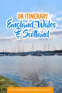 England, Wales & Scotland Itinerary