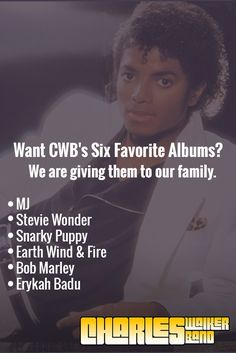 Win the CWB's Six Favorite Albums
