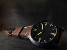 """GSD-1, """"Dirty Dial"""", Black Hands, PVD Case, $999"""