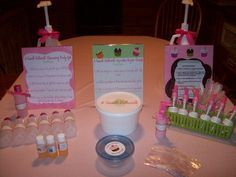little girl spa party ideas | All Things Bright and Beautiful }: Spa Party with the Girls