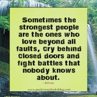 Don't Be A Fault Finder | Positive Outlooks Blog