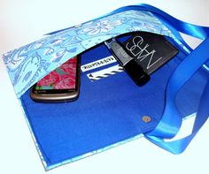 Lilly Pulitzer Blue Fish Ribbon Clutch with a blue by WinnSomeCo, $45.00