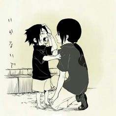 Sasuke and itachi  -Naruto