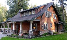 swiss chalet craftsman | Arts & Crafts Homes Newsletter - Arts & Crafts House Styles and ...