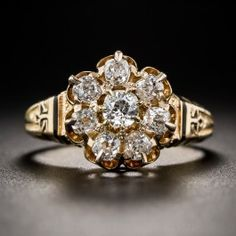 Victorian Diamond Cluster Ring - What's New