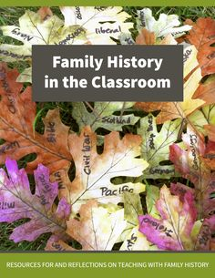 Family History in the Classroom free ebook