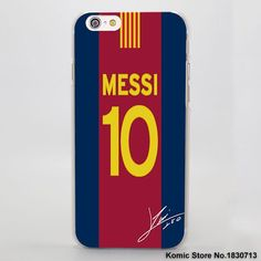 fc24a0ff3c5 Football Style Cr7 Messi Neymar Football Series Hard Clear Mobile Phone  Case For Apple Iphone 7 6 6S Plus Se 4S 5 5S 5C