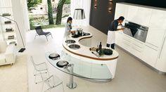 modern kitchen island design - Google Search