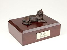 Affordable and personalized pet urns to choose from. Beautiful customized pet urns for your beloved. We have dog urns, cat urns, bunny rabbit urns, horse urns, burial markers and cremation jewelry urns. Pet Cremation Urns, Dog Urns, Pet Bag, Cat Care Tips, Purebred Dogs, Cat Memorial, Pet Supplies, Pets, Animals