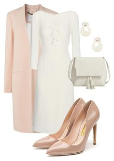 Designer Clothes, Shoes & Bags for Women Elegant Outfit, Elegant Dresses, Fashion Now, Fashion Outfits, Theatre Outfit, Early Spring Outfits, Chic Business Casual, Professional Outfits, Cute Casual Outfits