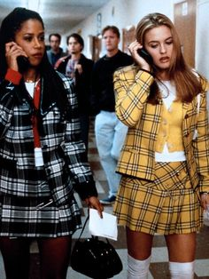 Stacey Dash and Alicia Silverstone, in Clueless
