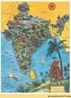 231 best indian poster images on pinterest posters india travel rodica prato map of india gumiabroncs Images