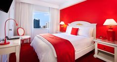 red rooms   Petite Queen Room   Red Boutique Hotel South Beach