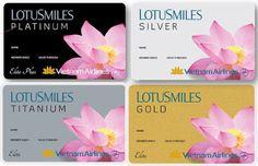 Thẻ hội viên bông sen vàng của Vietnam Airlines Vietnam Airlines, Gold, Image, Yellow