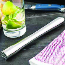 This sleek stainless steel muddler is the perfect bar tool for making hand-crafted cocktails quickly and easily. Lemon Drop Martini, Vodka Martini, Easy Cocktails, Drinks, Aromatic Herbs, Lemon Slice, Restaurant, Cocktail Making, Bar Tools
