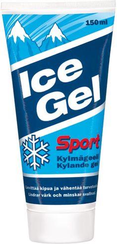 ICE GEL , jumittaviin hartioihin