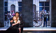 David McVicar's new production wisely plays Giordano's opera straight; Jonas Kaufmann and Željko Lučić are both superb although Eva-Maria Webroek's voice took time to settle
