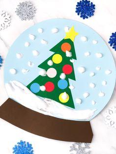 winter craft for kids: paper snowglobe    #kids #kidsactivities #kidsactivity #winter #wintercrafts #wintercraftsforkids #ideasforkids #childrens #craftsforkids #craftstodowithkids