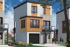 Zen & Contemporary | W1701 | Maison Laprise - Prefabricated Homes