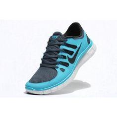Nike Free 5.0+ Herresko Lysblå Grå | Nike sko tilbud | billige Nike sko på nett | Nike sko nettbutikk norge | ovostore.com