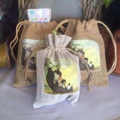Jungle Book goodie bags https://www.facebook.com/fiestaalugueis/