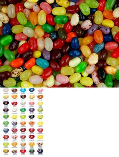 Jelly Beans 166723: Gourmet 49 Assorted Flavors Jelly Belly Jelly Beans 1 4 Lb To 10 Lb Bags Bulk -> BUY IT NOW ONLY: $32.75 on eBay!