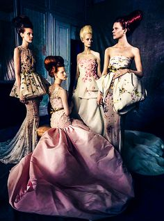 Alta Moda Vogue Italia #belle #epoque