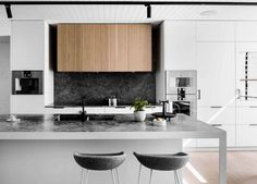 Kitchen | Bell Street Residence by Techne Architecture | est living