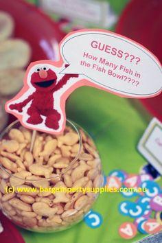 Lollipop Party Supplies - Blog - An Elmo party game idea.